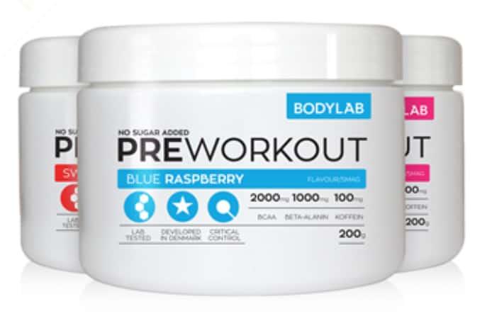 Pre-workout fra Bodylab