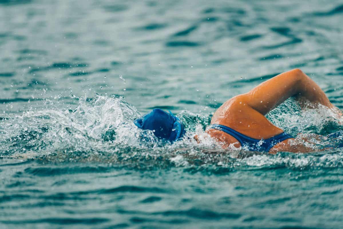 Havsvømning på åbent vand