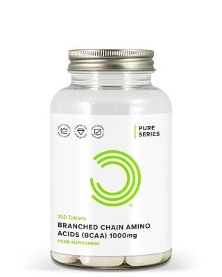 BCAA Piller 1000 mg 100 Tabletter