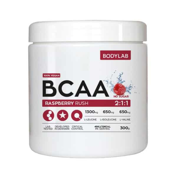 BodyLab BCAA Instant Raspberry Rush (300g)