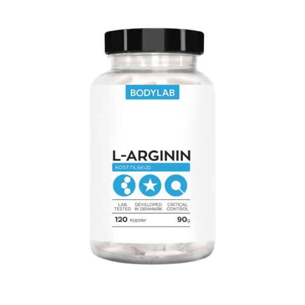 BodyLab L-Arginin (120 stk)