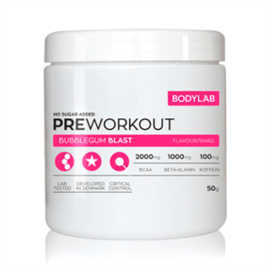 Bodylab Pre Workout (50g) - Bubblegum Blast