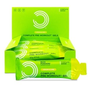 Complete Pre-Workout Gel (Boks med 12) Citron & Lime