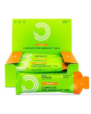 Complete Pre-Workout Gel (Boks med 12) Mango