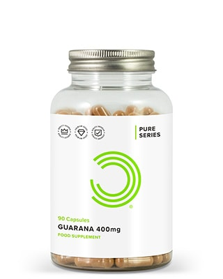 Guarana Kapsler 400 mg 90