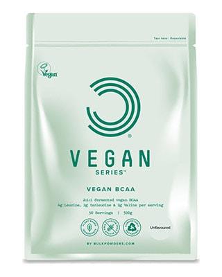 Vegansk BCAA Uden Smag 500 g