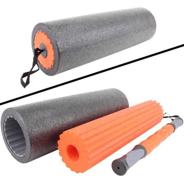 cPro9 Foam Roller 3-i-1 Sæt